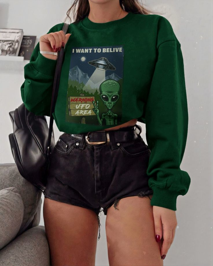 👽 The Best Alien Sweatshirt 👽 Hurry to buy!