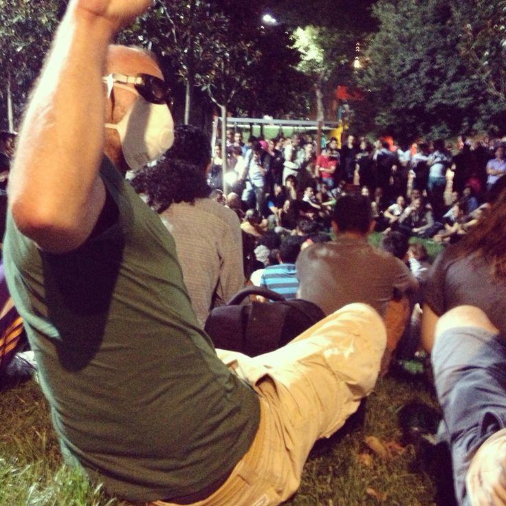 Istanbul, Gezi Park. Summer 2013