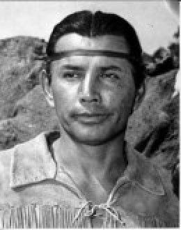 Jay Silverheels 1912-1980 as Tonto. Richard Farnsworth was his stunt double in the Lone Ranger series.