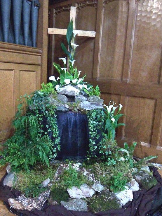 easter flower arrangements church | Church Flowers