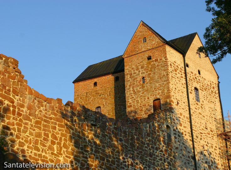 Castillo de Kastelholm en Sund en las islas Aland en Finlandia