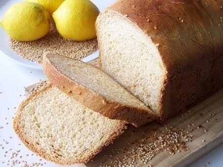 Pão de Limão - Máquina de Pão