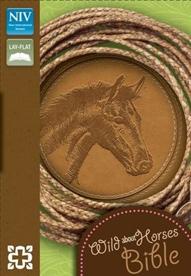 $24.99- NIV Wild About Horses Compact Bible