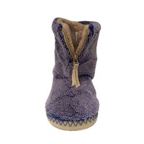 Crowe - Snow Tipped Sherpa Slipper Boots - Peacoat Navy