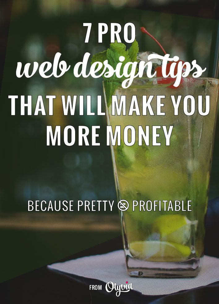 Professional web design tips that will help you make money with your website! Make sure your blog or business design + theme is marketing friendly, not just pretty to view. #websites