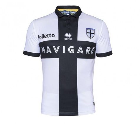 Parma Calcio 1913 2015/16 Home Football Shirt - Available at uksoccershop.com