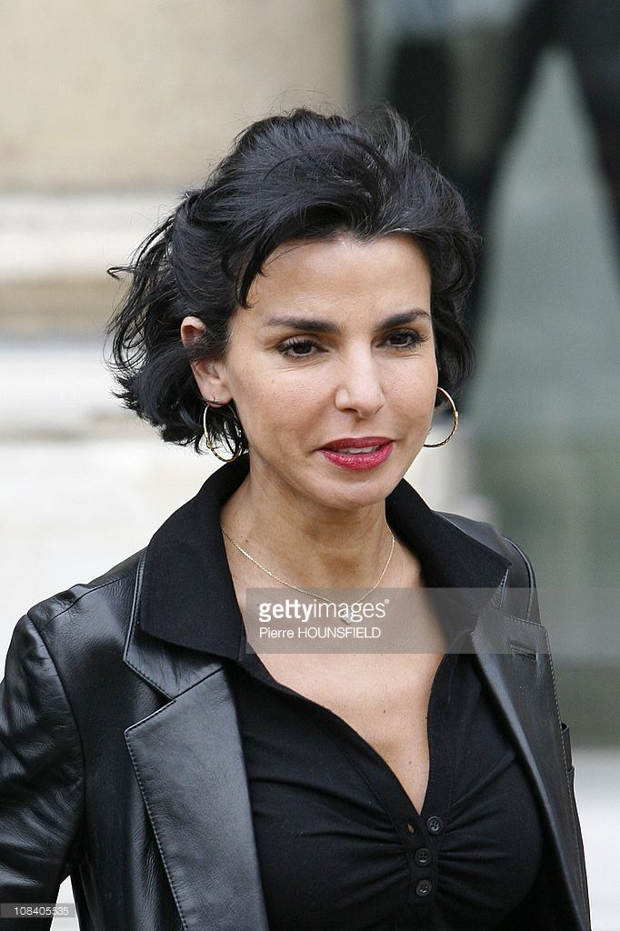 Photo d'actualité : French Justice minister Rachida Dati in Paris,...