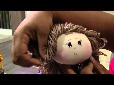 Mulher.com 25/11/2013 - Boneca bailarina- Silvia Torres (Bloco 2/2) - YouTube