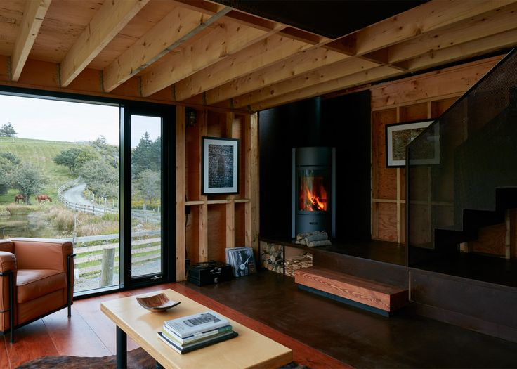 Brian Mackay-Lyons adds pre-rusted steel cabin to his Nova Scotia estate