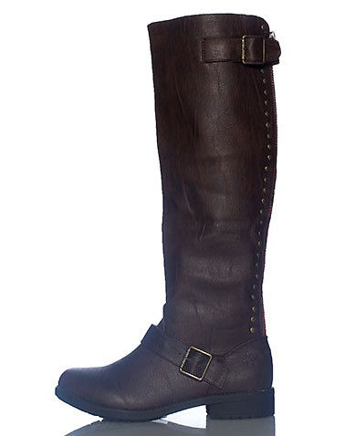 groove womens brown footwear boots 6