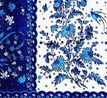 Batik cloth - Pekalongan, Java Indonesia.