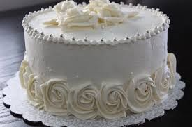 60th wedding anniversary cake ideas - I like the rosettes around the bottom