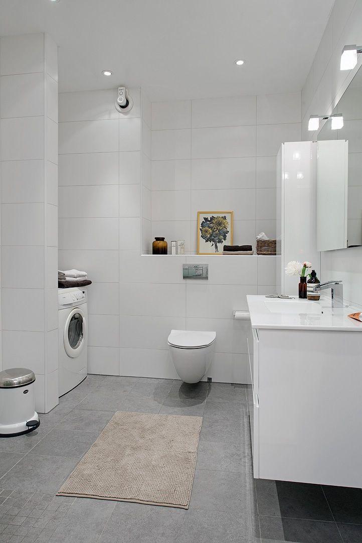 Det lyxiga badrummet har allt du kan önska