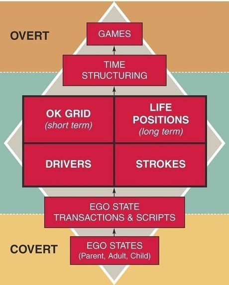 Berne's Transactional Analysis Diagram