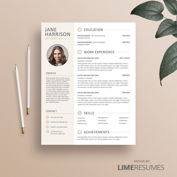 26 best Resume Templates - CV Templates images on Pinterest - reference page resume format