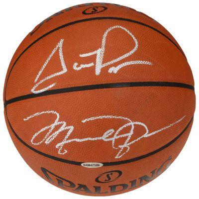 NBA-Michael Jordan & Scottie Pippen Chicago Bulls Autographed Indoor/Outdoor Basketball $3,499.99