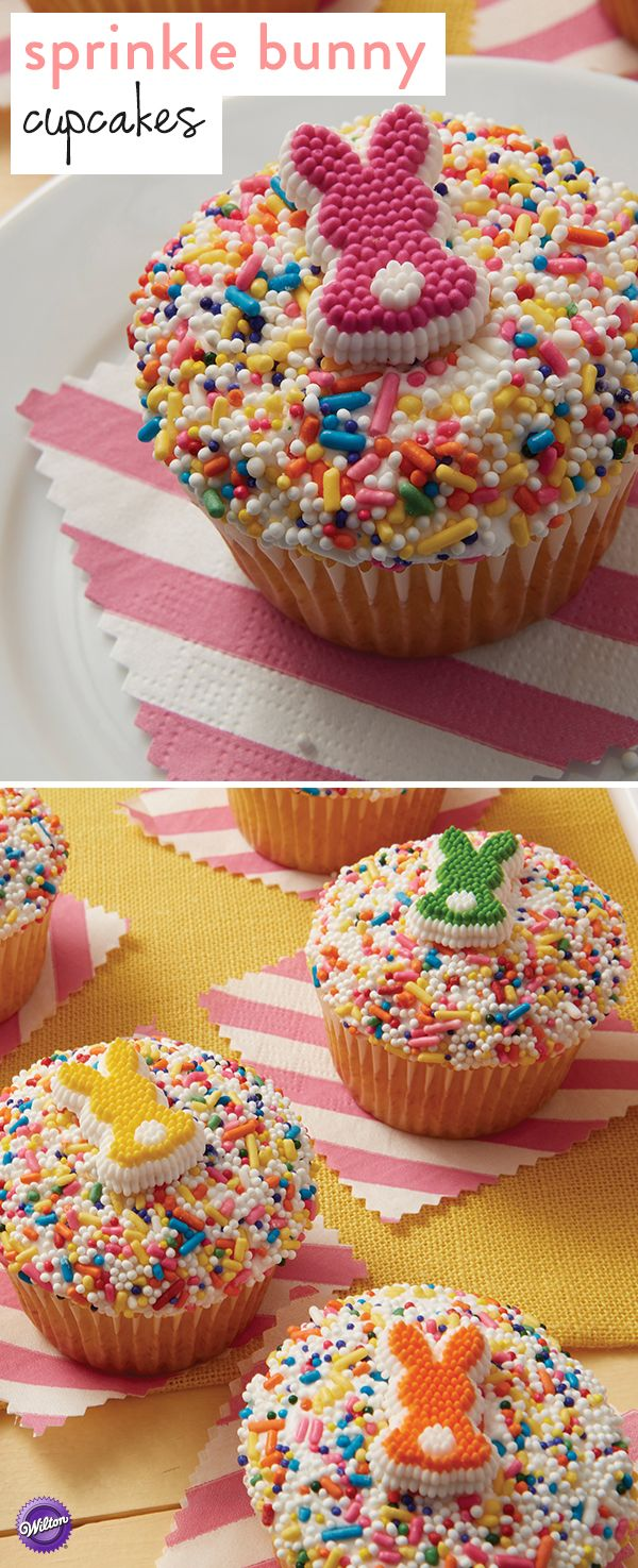 Sainsbury S Cake Decorations Sprinkles : 17 Best ideas about Bunny Cupcakes on Pinterest Easter ...