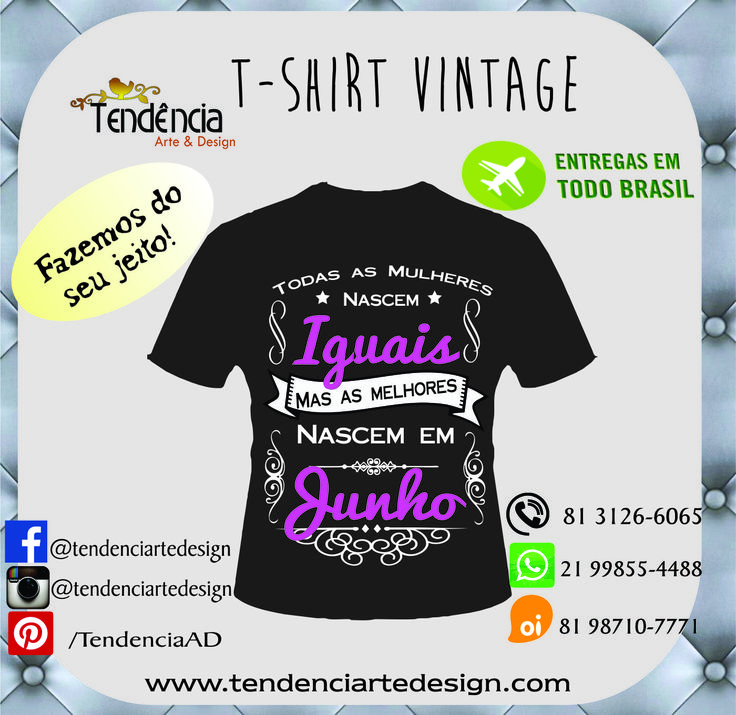 T-shirt Vintage by Trend