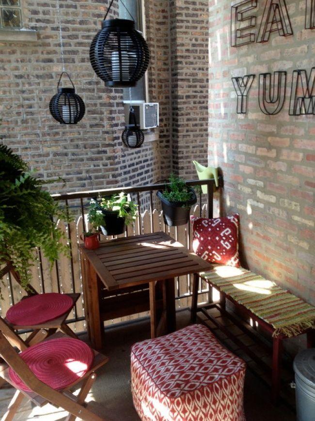 20 äußerst kreative Gestaltungsideen, um einen kleinen Balkon komfortabel und stilvoll zu gestalten
