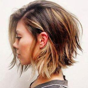 Resultado de imagen para pelo corto puntas desfiladas