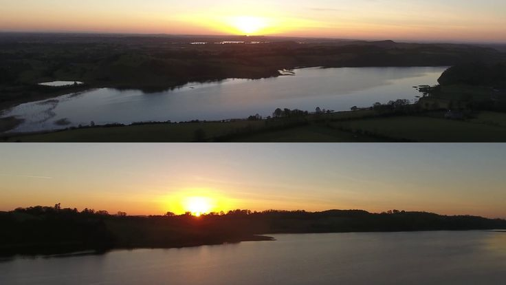 Timelapse Video of Sunset over Lough Bane #timelapse #sunset #drone #ireland