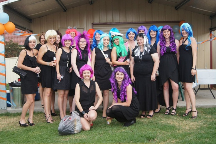 A great Hen Party idea - Wig Party! <3 xx