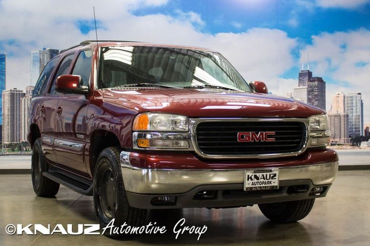 Used 2001 GMC Yukon for sale in North Chicago at Knauz North Used Car Center.