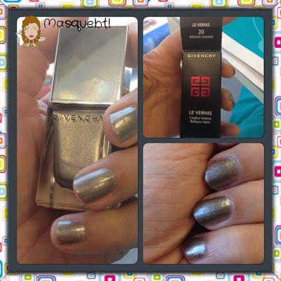 Givenchy nail lacquer in Masquebtl blog