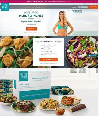 """The South Beach Diet offers a variety of stages. In the first phase which  is a 2-week period has been designed to help stop hunger pains."