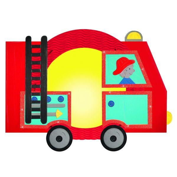 Bastelset Laterne Feuerwehr 32 X 25 X 10 Cm Fur 1 Laterne Laternen Bastelset Laternen Basteln Bastelsets