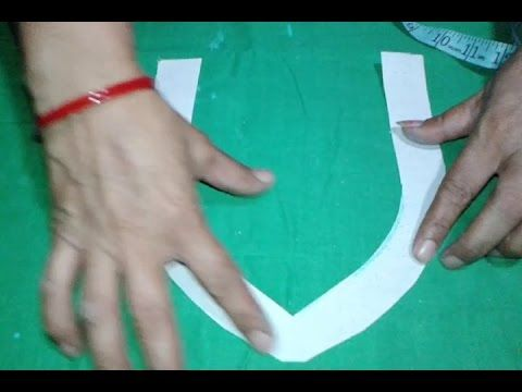 Fancy kameez neck cutting in hindi - YouTube