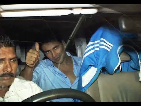 Akshay Kumar at the special screening of ITS ENTERTAINMENT.