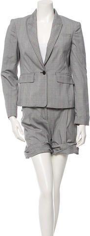 3.1 Phillip Lim Multicolor Plaid Short Suit