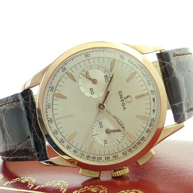 Omega Chronograph 18ct Gold 1962 | AVW