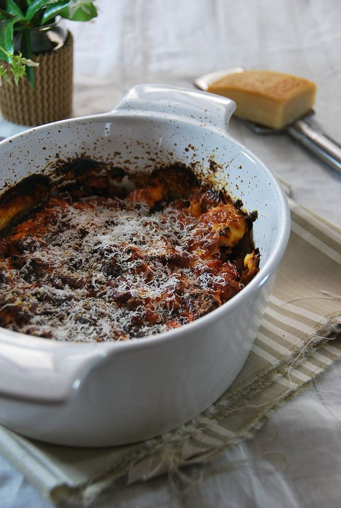 Gratin d'aubergine Parmigiana {parmesane} -Tangerine Zest