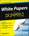 "White papers are used to educate buyers, generate leads, engage prospects and build expert status at various stages of the buying cycle. But they must be effectively created to get these results. Gordon Graham's new book called  ""White Papers For Dummies"" provides a great understanding of this type of educational content. 