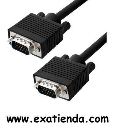 Ya disponible Cable vga 3m m/m   (por sólo 11.89 € IVA incluído):   -CONEX. VGA SUB-D 15 M/M 3 MTS -Blindado con el núcleo de ferrita en ambos extremos para la calidad máxima de la señal y evitar interferencias ocasionadas por otros equipos. Garantía de fabricante  http://www.exabyteinformatica.com/tienda/289-cable-vga-3m-m-m #audio #exabyteinformatica