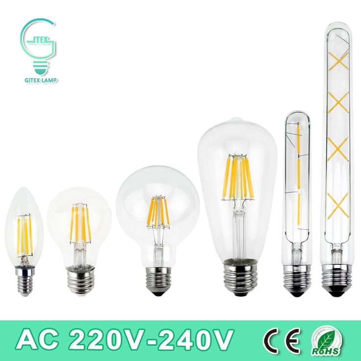 Perfect LED Filament Licht E E Vintage Retro LED Edison lampe Lampe Watt Watt