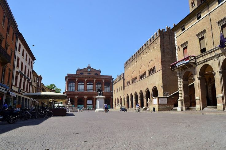 Rimini - La piazza Cavour