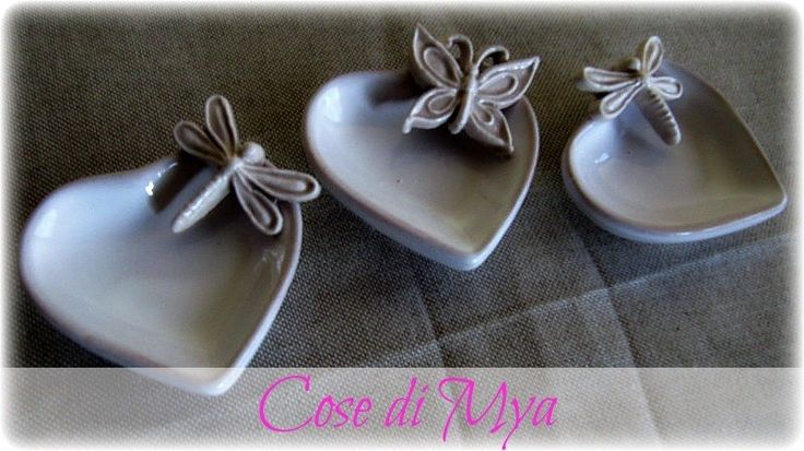 CUORICINI IN CERAMICA, by COSE DI MYA, 3,50 € su misshobby.com