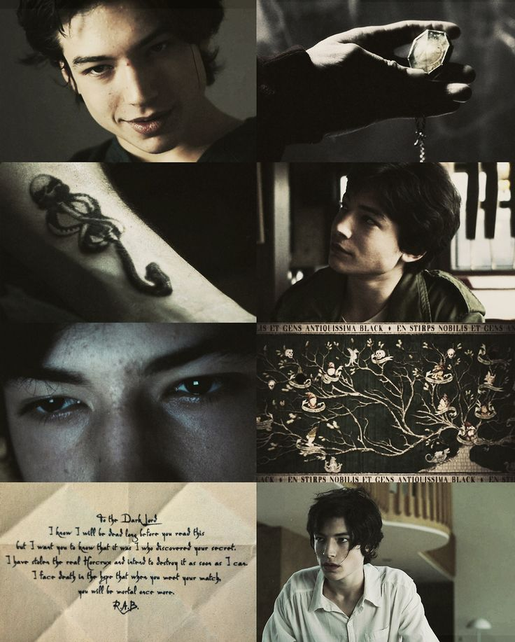 The Maurauders era Dreamcast - Ezra Miller as Regulus Black.