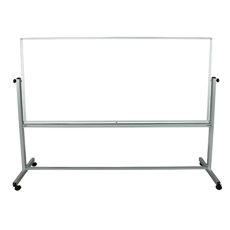 Luxor Reversible Magnetic Mobile Whiteboard