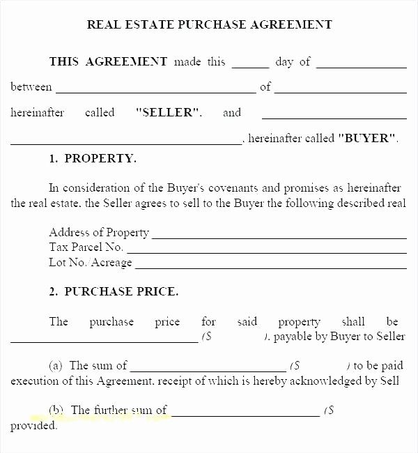 Real Estate Purchase Contract Template Beautiful Property Purchase Contract Template Property Purchase Real Estate Contract Purchase Contract Contract Template
