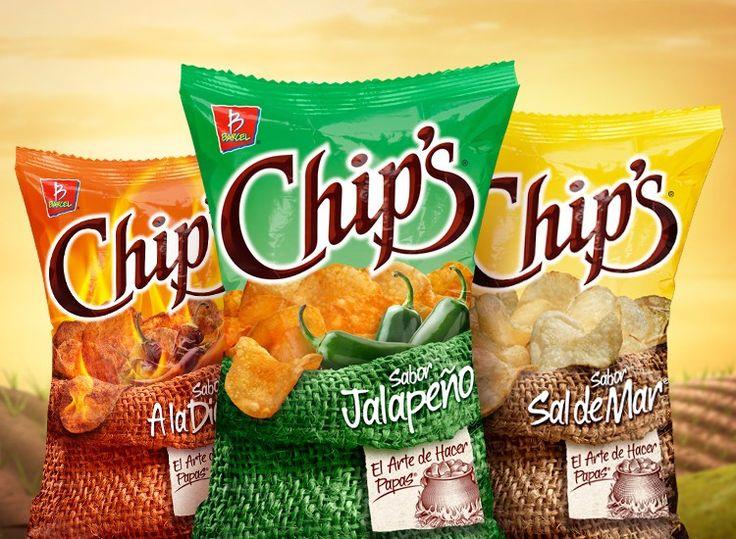 Chip's® Barcel Arquitectura de marca y rediseño de empaque 2011