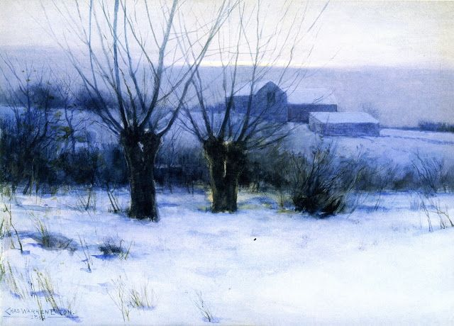 Winter Orchard - Helen Galloway McNicoll 1891 Canadian painter 1879-1915 Impressionism