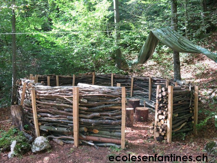 ecoles enfantines - Canapé forestier