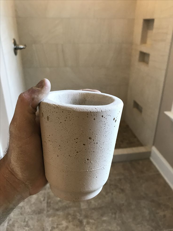 Laticrete Permacolor Select grout is strong enough to form a mug in 2 hours! We even ran the top and bottom through a saw and it didn't crumble.