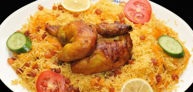 أرز الزربيان بالدجاج المكونات طريقة التحضير صلصة السحاوق اليمنية المكونات طريقة التحضير أرز الزربيان بالدجاج يعتبر طبق الزربيان م Food Chicken Rice