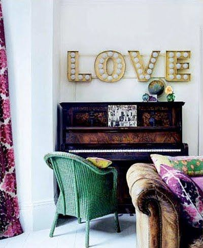 : Decor, Interior, Idea, Plan, Livingroom, Living Room, Love Signs, Light
