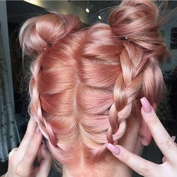 Blorange hair – a cor do momento! — Niina Secrets